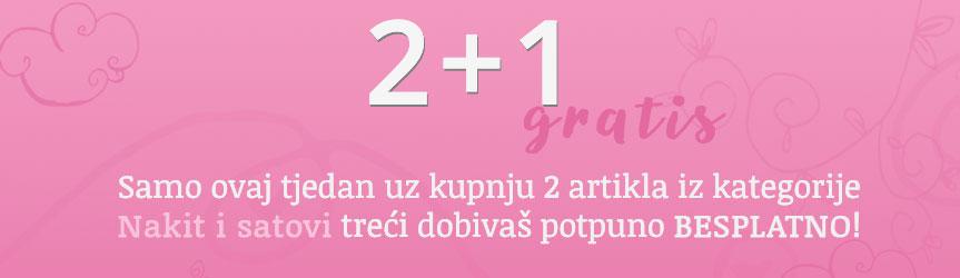 2+1 gratis - NAKIT I SATOVI